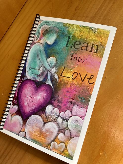 Lined Journal- Lean into Love