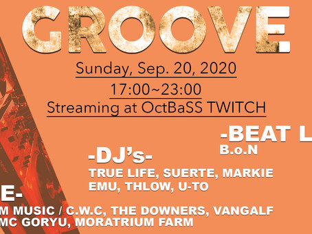 GROOVE-Webcast-(2020.09.20 Sun)