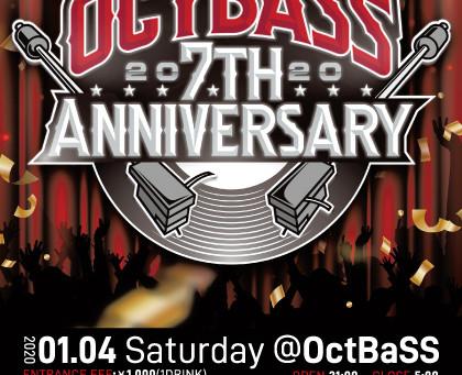 Club OctBaSS 7周年!!!!!
