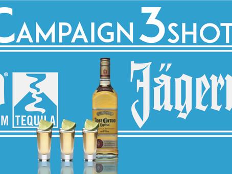 Summer Campaign 3Shots ¥1000