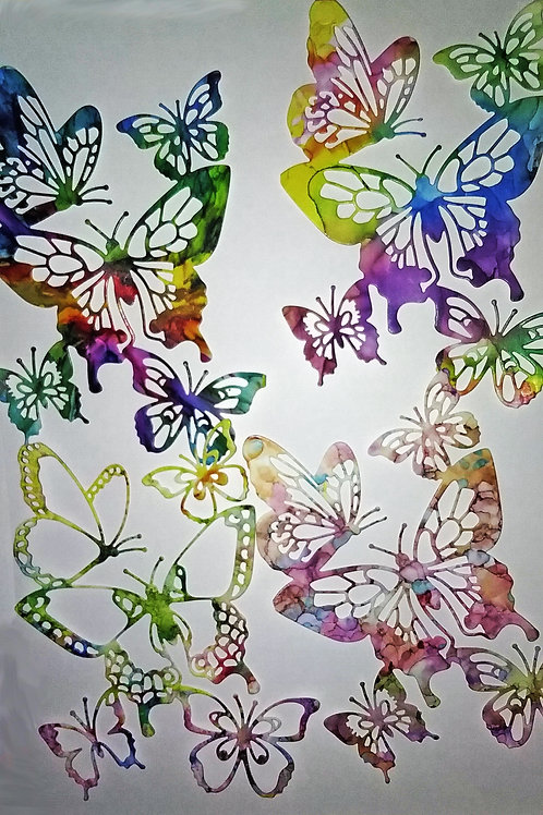 Large Butterfly Die Cuts