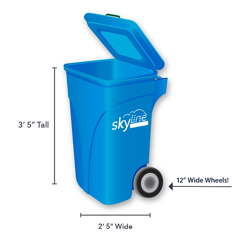Skyline Trash Cans