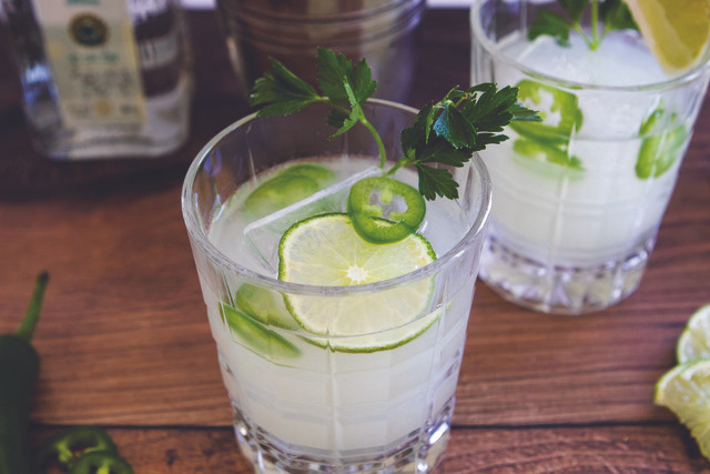 The Spicy Mezcalita, Fancy Pants Kitchen for the Pinewood News