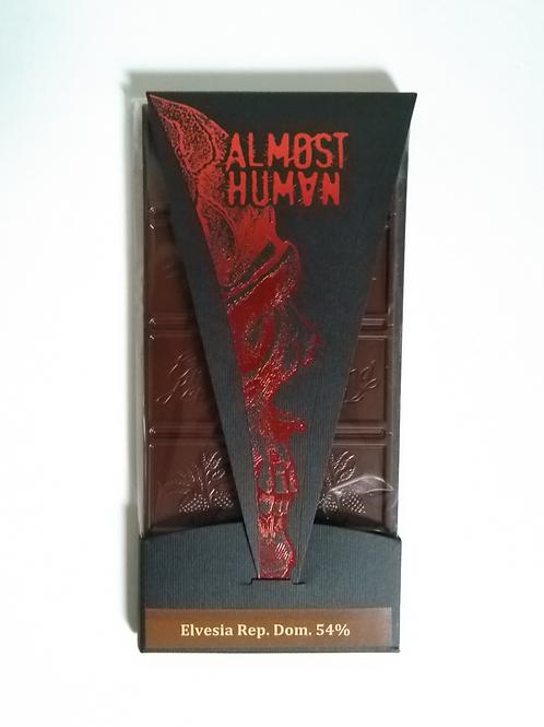 "Chocolat Almøst Human ""Swiss Metalcore Chocolate"""