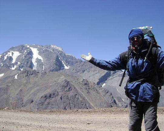 Jorge Frigerio. Cruce de Los Andes