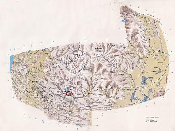 Mapa Paso del Planchón