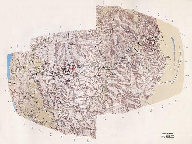 Mapa Paso Bermejo