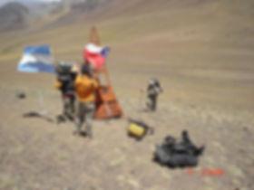 Cruce de Los Andes a pie. Paso Valle Hermoso. Jorge Frigerio