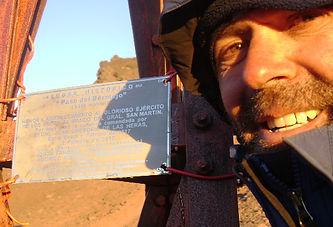Paso Uspallata. Cruce de Los Andes.
