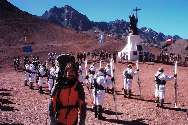 Daniel Guerrero. Cruce de Los Andes.