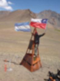 Jorge Frigerio. Paso Los Patos Valle Hermoso