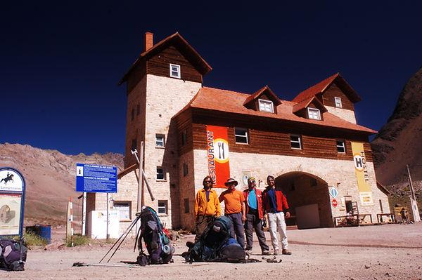 Cruce de Los Andes. Jorge Frigerio