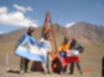 Paso Los Patos. Cruce de Los Andes.