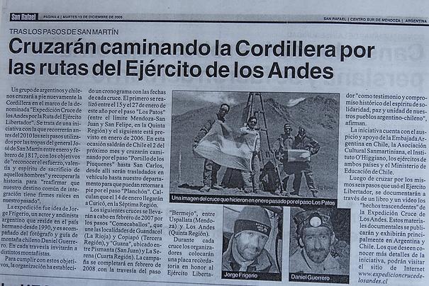 Jorge Frigerio Cruce de Los Andes 2010 c