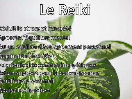 Les bienfaits du Reiki