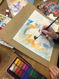 watercolour workshop class