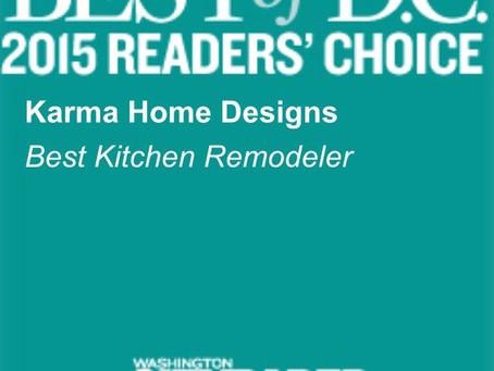 Best Kitchen Remodeler 2015