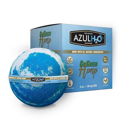 Hemp CBD Bath Bombs Azul H20 40mg