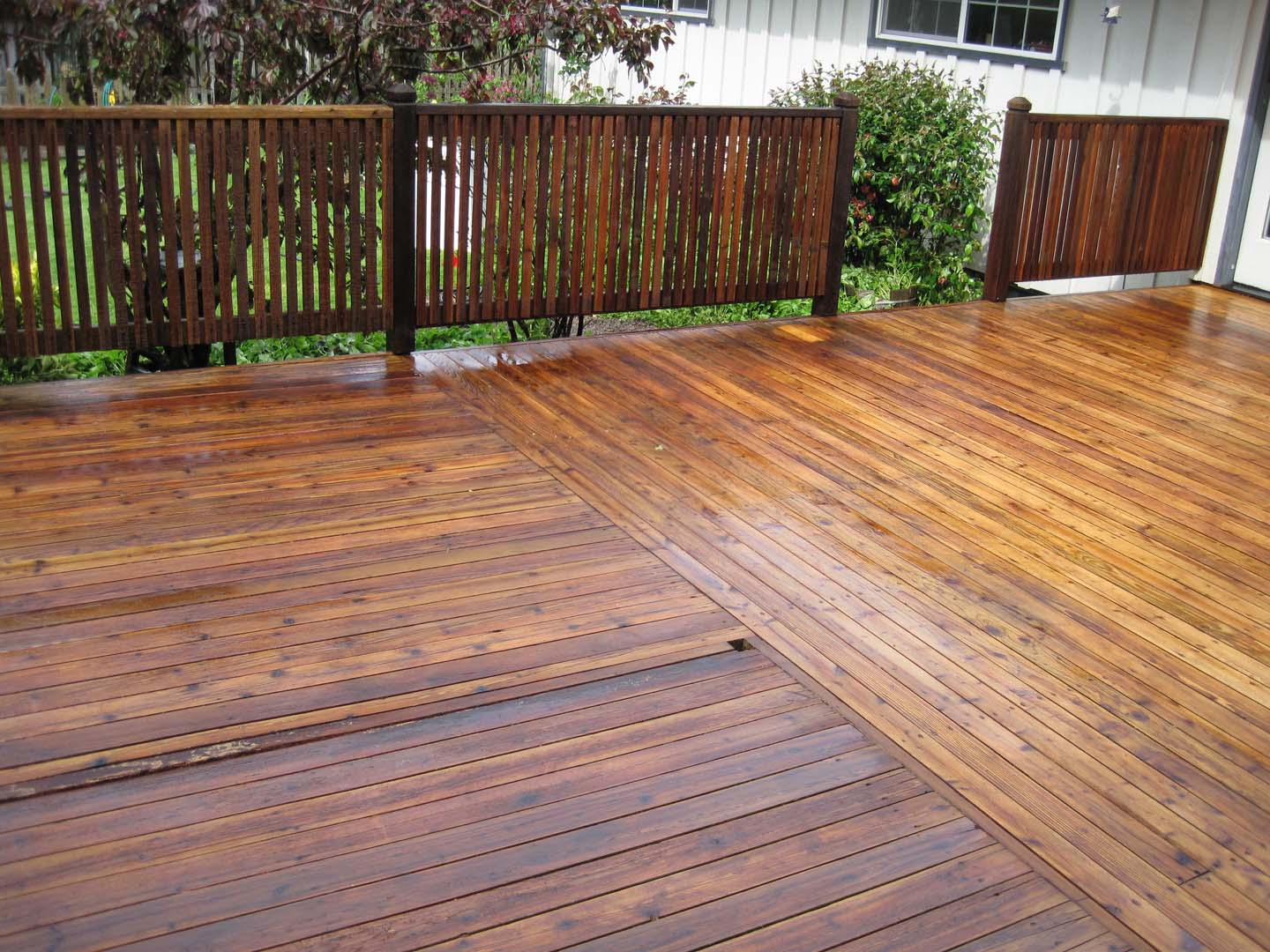 New Decks and Deck Restoration