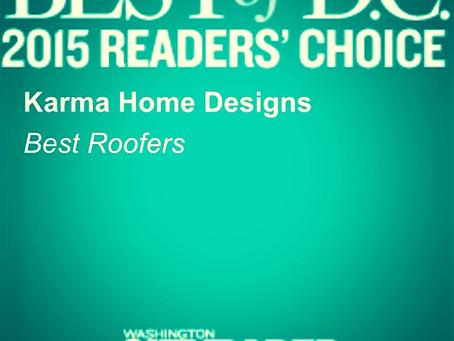 Best Roofer 2015