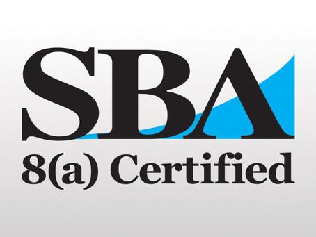 SBA 8a Certified