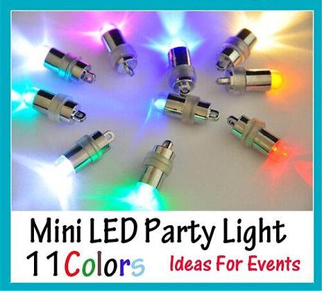 10 Pieces/Lot Single Battery Operated Micro Mini Led Fairy Lights