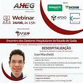 Encontro dos gestores hospitalares do Estado de Goiás