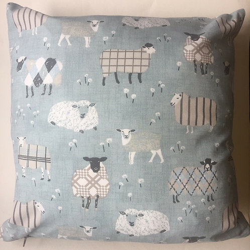 """Brand New Luxury 18"""" Feather Filled Cushion - Sheep"""