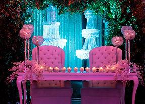 Le Glam Mariage - Mesa de Novios