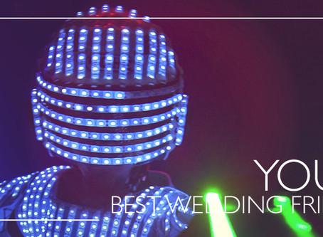 Elige el show interactivo correcto para tu boda