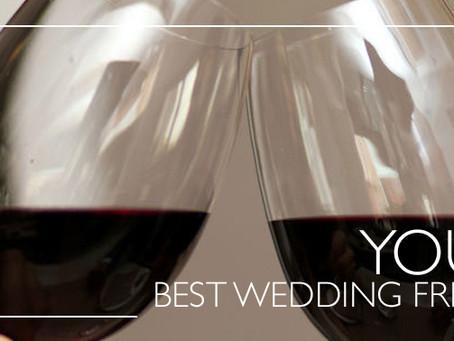 El alcohol para la novia con moderación
