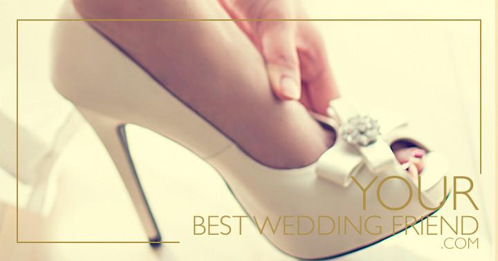 Los zapatos de tu boda: tu gran aliado o tu peor enemigo