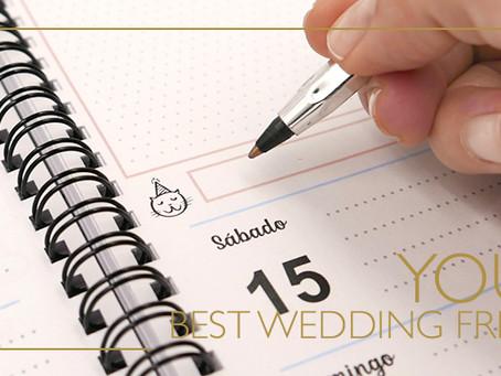 ¿Cómo es trabajar con un wedding planner?