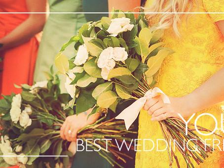 ¿Es buena idea que tus bridesmaids elijan sus vestidos?