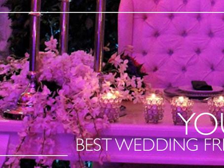 Prepara para la recepción una mesa tan deslumbrante como tu