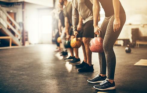 Fitness class core shutterstock_10751879