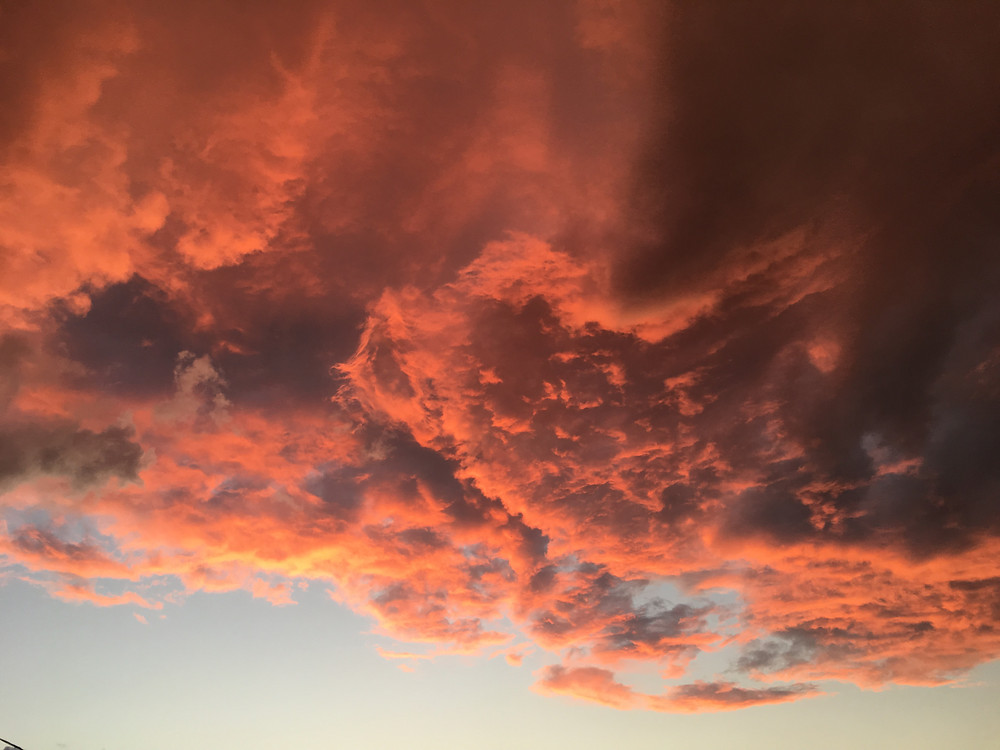 Sunset Sky after the storms / Columbus, Ohio