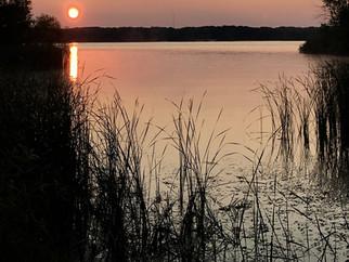 Sunrise at Alum CreekState Park