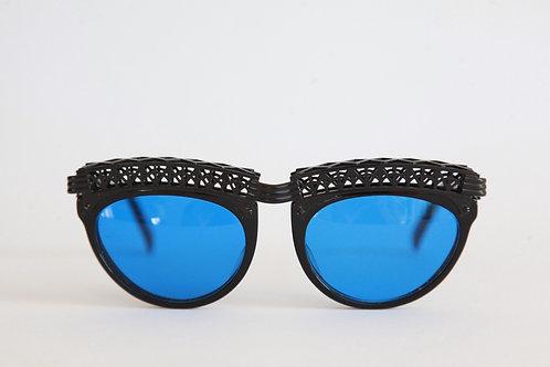 Jean Paul Gaultier 56-0271 Black/Dark-Blue