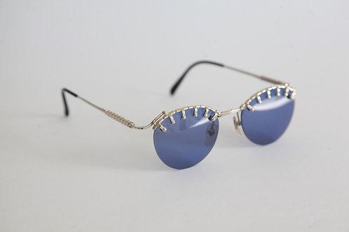 Jean Paul Gaultier 56-5103 Silver/Blue