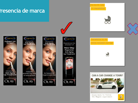 Tips para creación de banners de publicidad en Display
