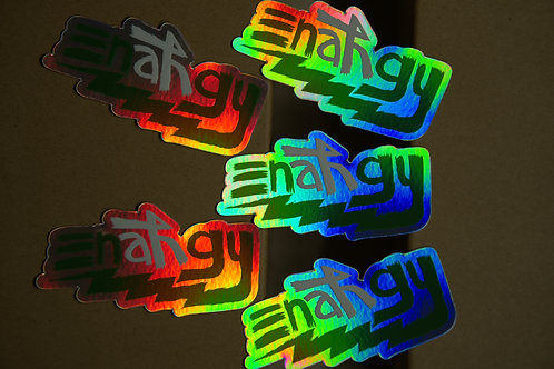 Enahgy Holographic Sticker x1