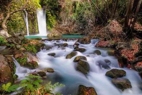 Banias Fall north israel
