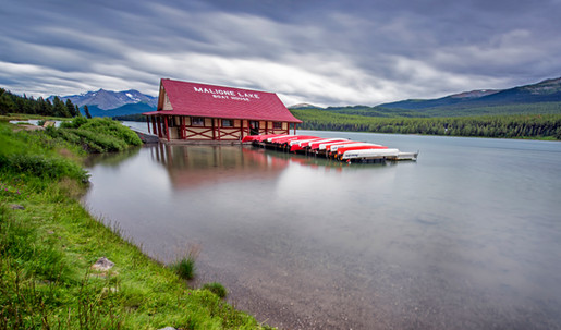 maligne lake , Jasper , Canada