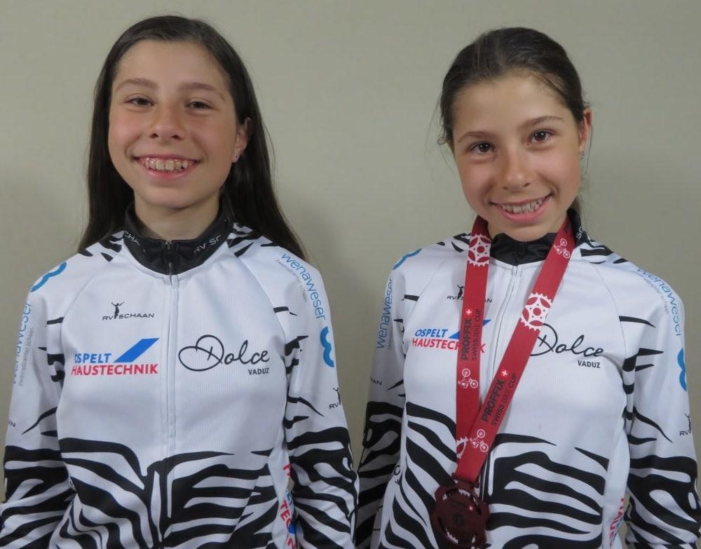 Elena und Seraina Candita