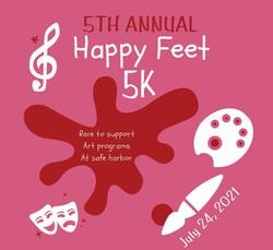 Happy Feet 5K  2021