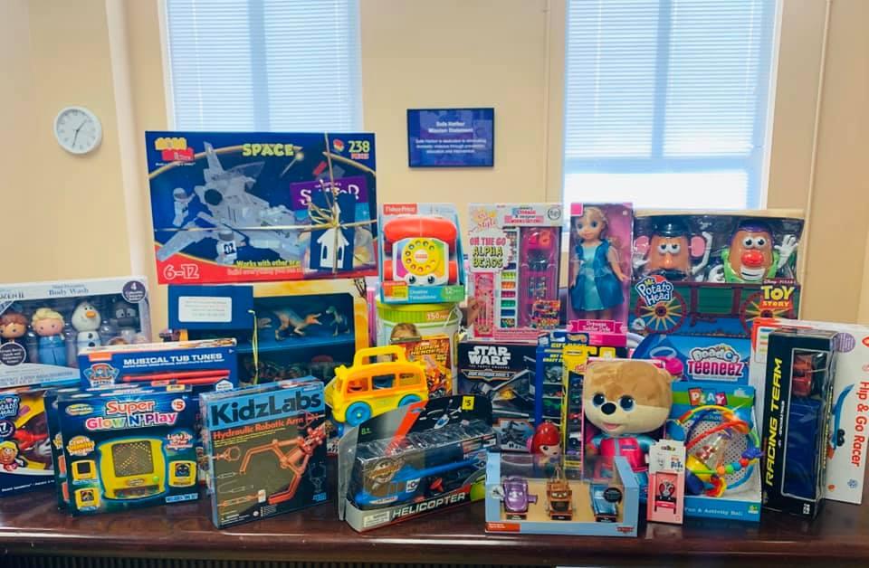Donations for Santa Workshop