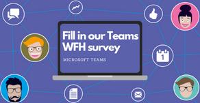 Take our Teams WFH survey !