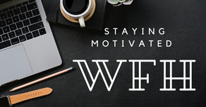 Feeling demotivated Working From Home? Check out these 5 Tips for maintaining productivity.