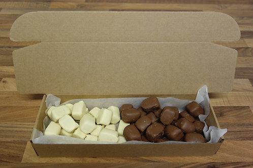 Kolatryffel mix - ljus & vit choklad - 1 kg